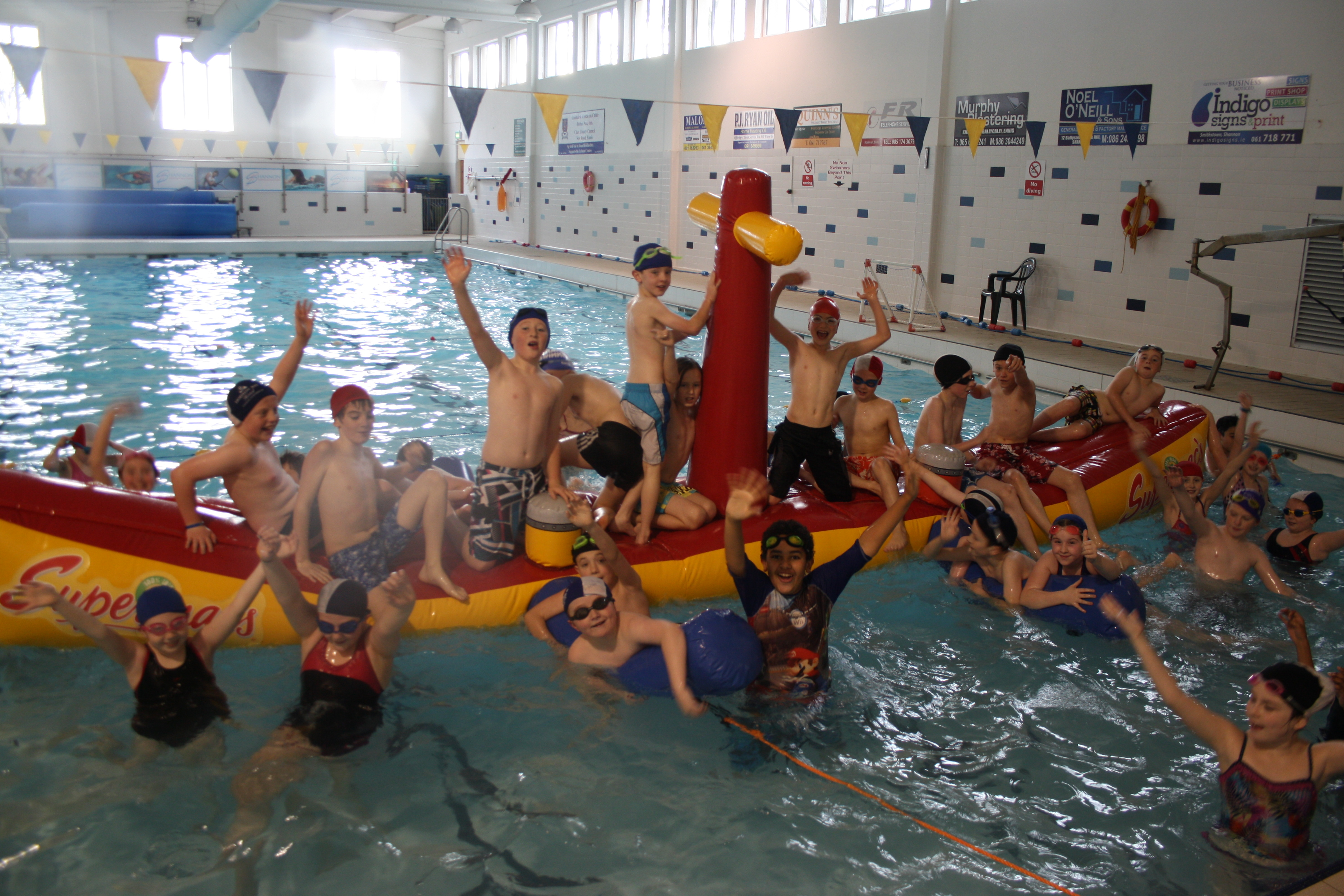 Birthday Parties Shannon Co Clare Shannon Swimming And