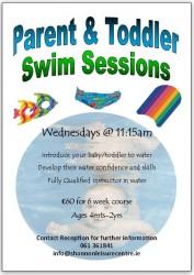 Parent & Toddler Shannon Leisure Centre