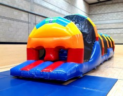 Rainbow Run Inflatable Obstacle Course