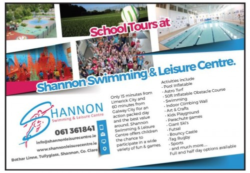 School Tour Shannon Leisure Centre