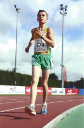 Gearoid McMahon High Performance Athlete Shannon Leisure Centre