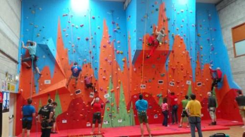 Climbing Wall Shannon Leisure Centre