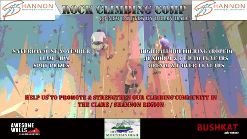 Flyer Climb Comp Shannon Leisure Centre