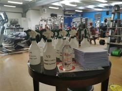 disinfection Shannon Leisure Centre