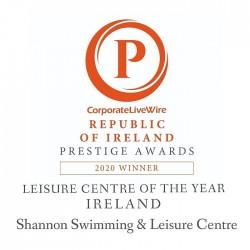Corporate LiveWire Republic of Ireland Prestige Awards 2020 Shannon Leisure Centre