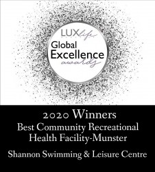 LuxLife Global Excellence Awards Shannon Swimming & Leisure Centre
