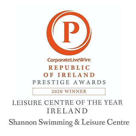 Corporate Livewire Republic of Ireland Prestige Award Winners Shannon Swimming & Leisure Centre