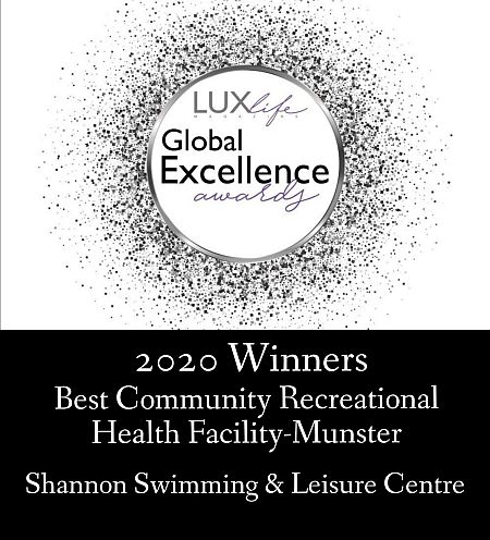 Luxlife Global Excellence Award Winners Shannon Swimming & Leisure Centre